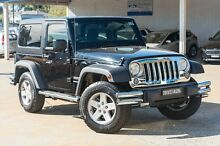 2014 Jeep Wrangler JK MY2015 Sport Black 5 Speed Automatic Softtop Greenacre Bankstown Area Preview