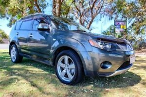2008 Mitsubishi Outlander ZG MY08 XLS Grey 6 Speed CVT Auto Sequential Wagon Greenfields Mandurah Area Preview