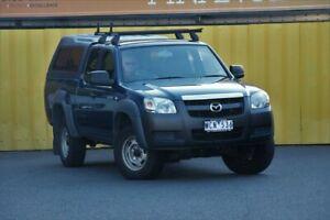2007 Mazda BT-50 UNY0E3 DX+ Freestyle 4x2 Nautilus Blue 5 Speed Manual Utility Cheltenham Kingston Area Preview