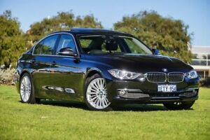 2015 BMW 320d F30 MY1114 M Sport Black Sapphire 8 Speed Sports Automatic Sedan Burswood Victoria Park Area Preview