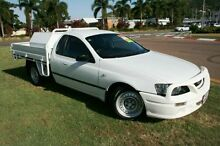 2006 Ford Falcon BF XL Super Cab White 4 Speed Sports Automatic Cab Chassis Townsville 4810 Townsville City Preview
