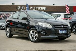 2012 Ford Focus LW Trend PwrShift Black 6 Speed Automatic Hatchback