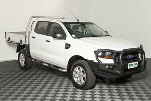 2015 Ford Ranger PX MkII XL Double Cab White 6 Speed Sports Automatic Cab Chassis Acacia Ridge Brisbane South West Preview