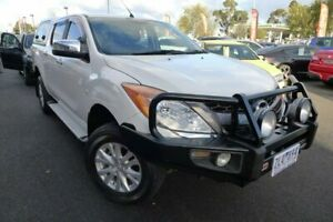 2012 Mazda BT-50 UP0YF1 XTR White 6 Speed Sports Automatic Utility Hoppers Crossing Wyndham Area Preview
