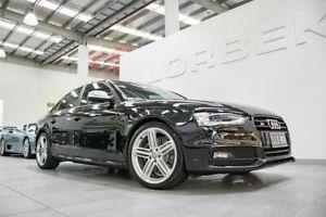 2013 Audi S4 B8 (8K) MY13 3.0 TFSI Quattro Phantom Black Pearl 7 Speed Auto Direct Shift Sedan Port Melbourne Port Phillip Preview