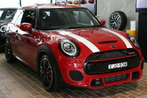 2019 Mini Hatch F56 LCI John Cooper Works Chilli Red 8 Speed Sports Automatic Hatchback Darlinghurst Inner Sydney Preview