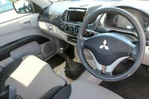 2010 Mitsubishi Triton MN MY10 GL White 5 Speed Manual Cab Chassis Minchinbury Blacktown Area Preview