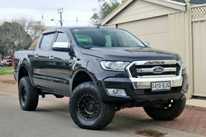 2015 Ford Ranger PX MkII XLT Double Cab Black 6 Speed Sports Automatic Utility Glenelg Holdfast Bay Preview