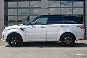2017 Land Rover Range Rover Sport L494 17MY SDV6 CommandShift Autobiography Dynamic Silver 8 Speed