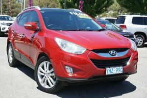2012 Hyundai ix35 LM MY12 Highlander AWD Red 6 Speed Sports Automatic Wagon Phillip Woden Valley Preview