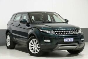 2014 Land Rover Range Rover Evoque LV MY15 TD4 Pure Green 9 Speed Automatic Wagon