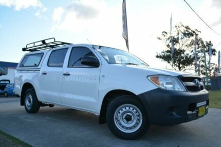 2006 Toyota Hilux GGN15R 06 Upgrade SR White 5 Speed Automatic Dual Cab Pick-up Mulgrave Hawkesbury Area Preview