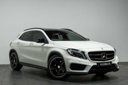 2016 Mercedes-Benz GLA 250 4MATIC X156 806MY DCT 4MATIC White 7 Speed Sports Automatic Dual Clutch Rozelle Leichhardt Area Preview