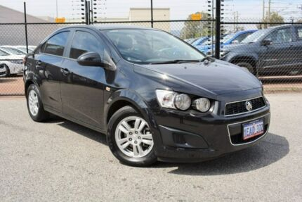 2012 Holden Barina TM MY13 CD Black 6 Speed Automatic Sedan Gosnells Gosnells Area Preview