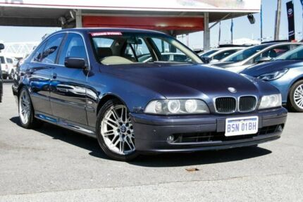 2002 BMW 525i E39 Executive Blue 5 Speed Auto Steptronic Sedan Osborne Park Stirling Area Preview