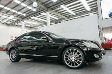 2007 Mercedes-Benz S350 221 07 Upgrade Obsidian Black 7 Speed Automatic G-Tronic Sedan Port Melbourne Port Phillip Preview