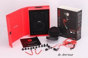 Dr Dre Beats Tour Wired In Ear  with ControlTalk (black)