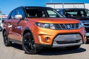 2018 Suzuki Vitara LY S Turbo 4WD Orange 6 Speed Sports Automatic Wagon Osborne Park Stirling Area Preview