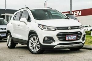 2017 Holden Trax TJ MY17 LT White 6 Speed Automatic Wagon Rockingham Rockingham Area Preview