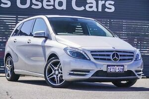 2014 Mercedes-Benz B200 CDI W246 DCT Silver 7 Speed Sports Automatic Dual Clutch Hatchback Maddington Gosnells Area Preview