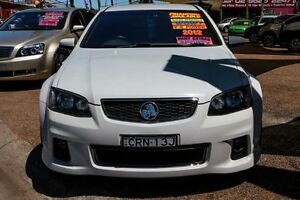 2012 Holden Commodore VE II MY12 SS White 6 Speed Sports Automatic Sedan Minchinbury Blacktown Area Preview