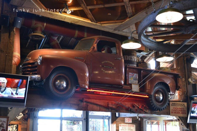 Got An Old Car Hanging Around Visit More Man Cave Decorating Ideas By Funky Junk