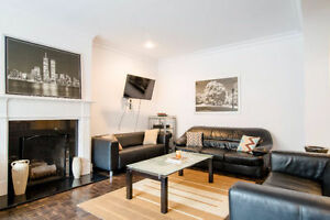 Beautiful Furnished Room in a 3 BDR Condo - Downtown Montreal