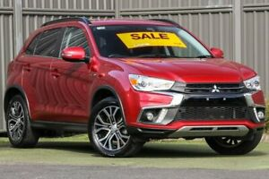 2018 Mitsubishi ASX XC MY18 LS 2WD ADAS Red Metallic 6 Speed Constant Variable Wagon Wantirna South Knox Area Preview
