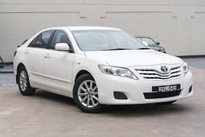 2011 Toyota Camry ACV40R MY10 Altise Diamond White 5 Speed Automatic Sedan Brookvale Manly Area Preview