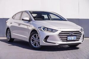 2016 Hyundai Elantra AD MY17 Active Silver 6 Speed Sports Automatic Sedan