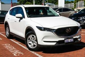 2020 Mazda CX-5 KF2W7A Maxx SKYACTIV-Drive FWD White 6 Speed Sports Automatic Wagon Myaree Melville Area Preview