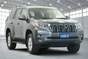 2018 Toyota Landcruiser Prado GDJ150R GXL Graphite 6 Speed Sports Automatic Wagon Victoria Park Victoria Park Area Preview