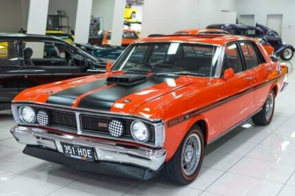 1970 Ford Fairmont XY GT Vermillion Red 4 Speed Manual Sedan Carss Park Kogarah Area Preview