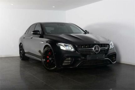 2017 Mercedes-Benz E63 W213 808MY AMG S Obsidian Black Sports Automatic Sedan Artarmon Willoughby Area Preview
