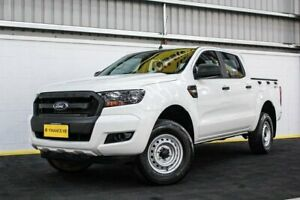 2016 Ford Ranger PX MkII XL Double Cab 4x2 Hi-Rider White 6 Speed Sports Automatic Utility