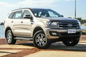 2018 Ford Everest UA II Ambiente Silver Sports Automatic Wagon