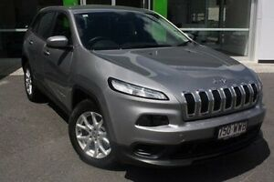 2015 Jeep Cherokee KL MY15 Sport Silver 9 Speed Sports Automatic Wagon Mount Gravatt Brisbane South East Preview