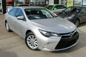 2016 Toyota Camry AVV50R Atara S Silver 1 Speed Constant Variable Sedan Hybrid Hoppers Crossing Wyndham Area Preview