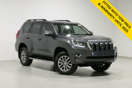 2020 Toyota Landcruiser Prado GDJ150R VX Grey 6 Speed Automatic Wagon Bentley Canning Area Preview