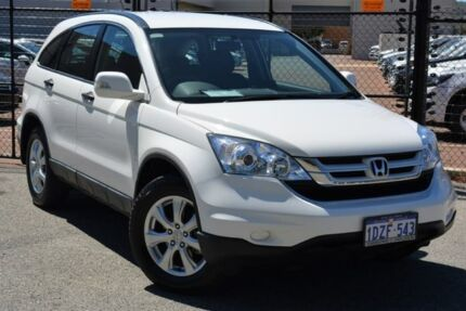 2012 Honda CR-V RE MY2011 4WD White 5 Speed Automatic Wagon Gosnells Gosnells Area Preview