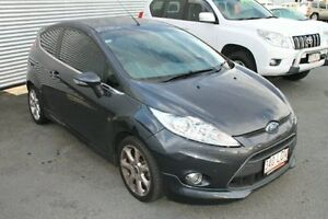 2009 Ford Fiesta WS Zetec Grey 5 Speed Manual Hatchback Bungalow Cairns City Preview