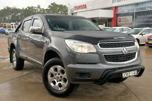 2014 Holden Colorado RG MY14 Storm Crew Cab Graphite 6 Speed Sports Automatic Utility