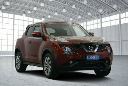 2015 Nissan Juke F15 Series 2 ST X-tronic 2WD Red 1 Speed Constant Variable Hatchback Victoria Park Victoria Park Area Preview