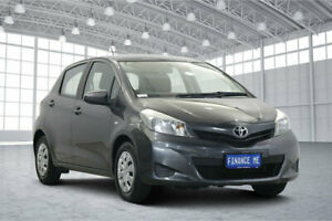 2011 Toyota Yaris NCP130R YR Grey 5 Speed Manual Hatchback Victoria Park Victoria Park Area Preview