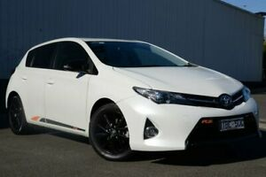 2014 Toyota Corolla ZRE182R RZ S-CVT White 7 Speed Constant Variable Hatchback Oakleigh Monash Area Preview