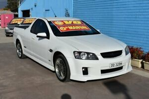 2010 Holden Commodore VE MY10 SS White 6 Speed Manual Utility Enfield Port Adelaide Area Preview