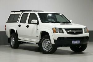 2009 Holden Colorado RC MY10 LX (4x4) White 4 Speed Automatic Crew Cab Pickup