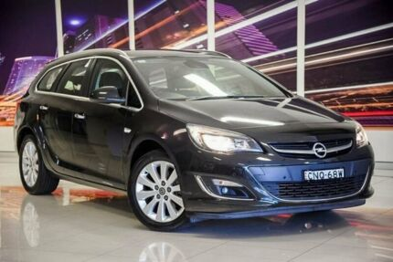2012 Opel Astra AS Sports Tourer Black 6 Speed Sports Automatic Wagon