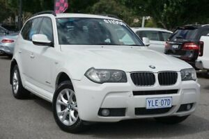 2009 BMW X3 E83 MY09 xDrive20d Steptronic Lifestyle White 6 Speed Automatic Wagon Phillip Woden Valley Preview