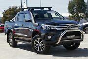 2015 Toyota Hilux GUN126R SR5 Double Cab Black 6 Speed Sports Automatic Utility Sutherland Sutherland Area Preview